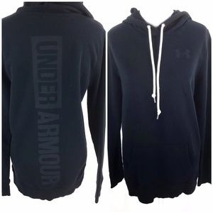 Under Armour back spell out